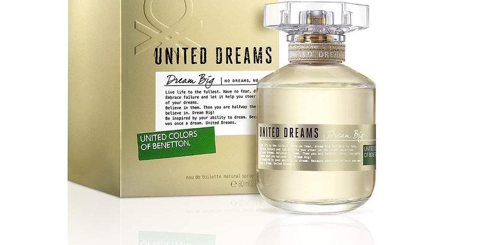 Benetton United Dreams Dream Big EDT Spray