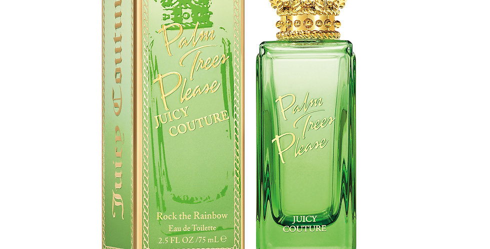 Juicy Couture Palm Trees Please Rock The Rainbow EDT Spray