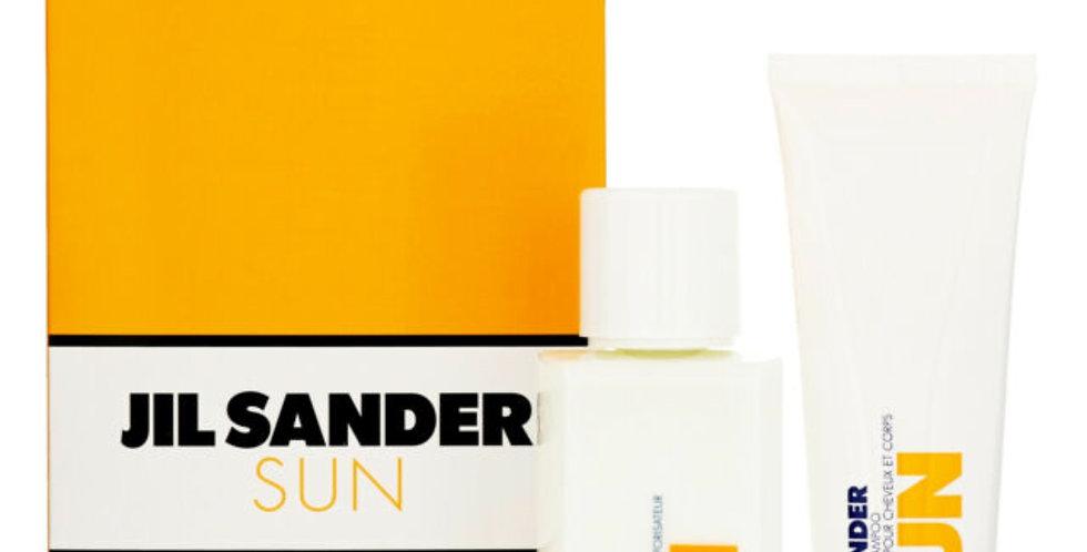 Jil Sander Sun 75ml EDT Spray / 75ml Hair & Body Shampoo