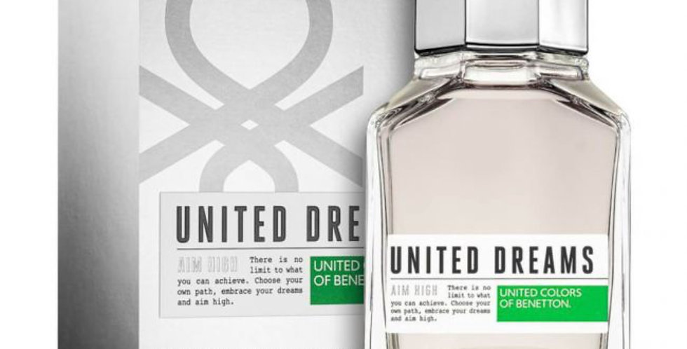 Benetton United Dreams Men Aim High EDT Spray