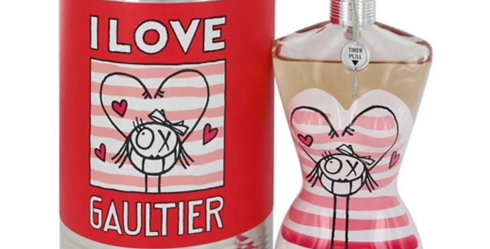 Jean Paul Gaultier Classique Eau Fraiche I Love Gaultier  EDT Spray