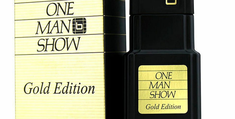 Jacques Bogart One Man Show EDT Spray Gold Edition