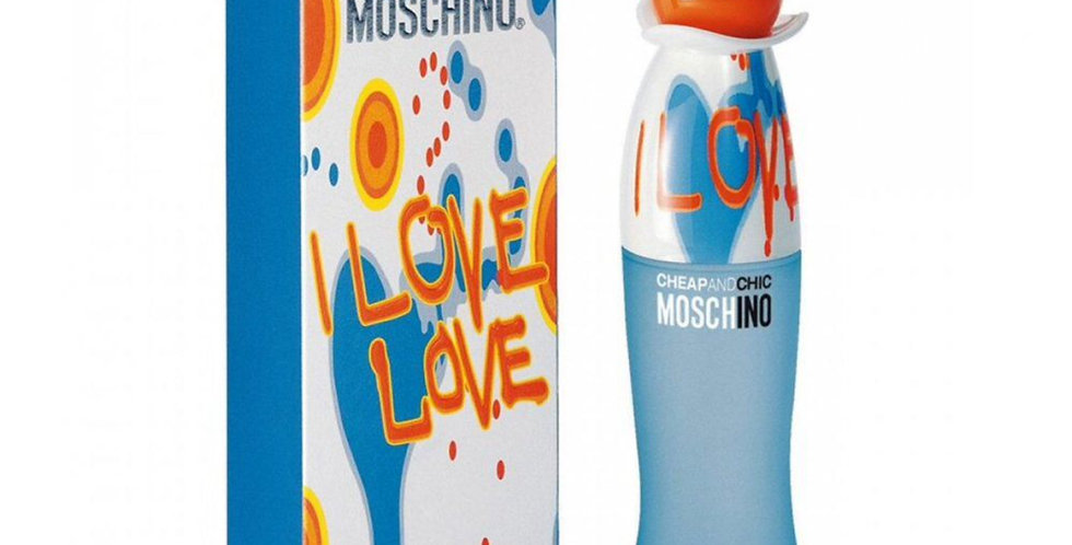 Moschino Cheap and Chic I Love Love EDT Spray