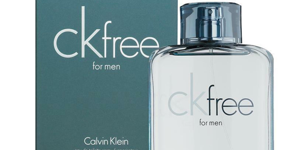 Calvin Klein CK Free for Men EDT Spray