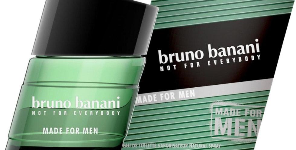 Bruno Banani Made for Man EDT Spray