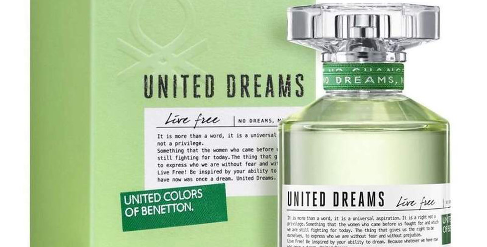 Benetton United Dreams Live Free EDTl Spray