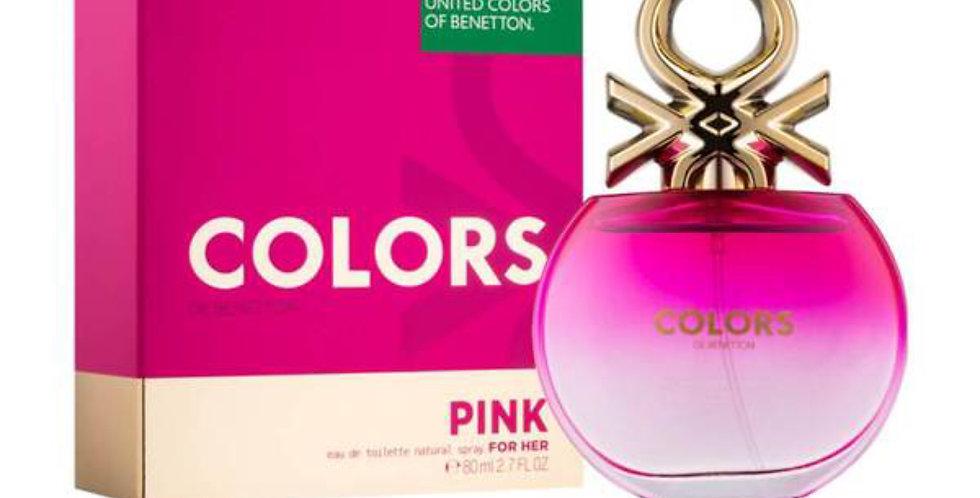 Benetton Colors de Benetton Pink EDT Spray