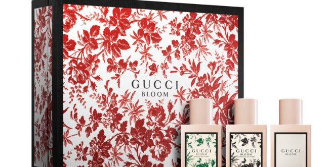 Gucci Bloom Gift Set 30ml Bloom EDP + 30ml Bloom Acqua di Fiori EDT + 30ml Bloom