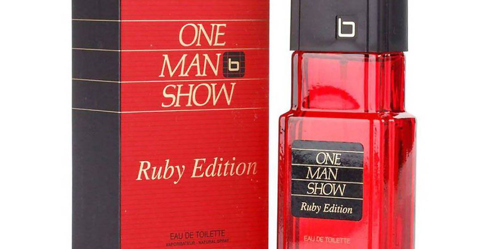 Jacques Bogart One Man Show EDT Spray Ruby Edition