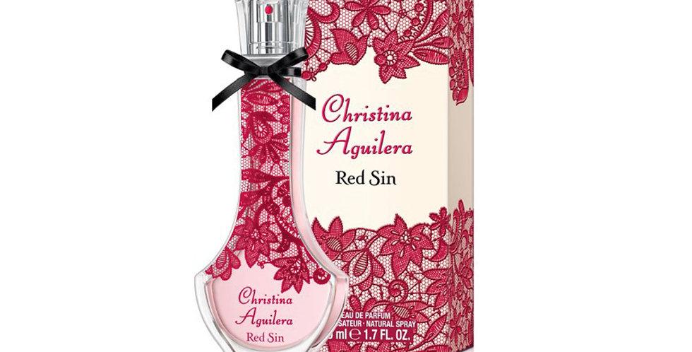 Christina Aguilera Red Sin EDP Spray