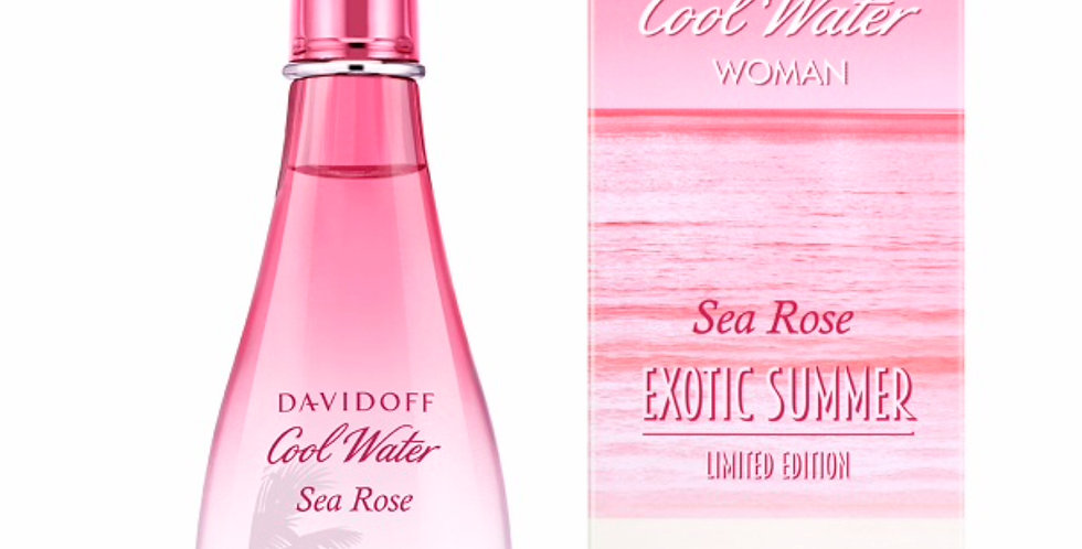 Davidoff Cool Water Woman Sea Rose Exotic Summer EDT Spray