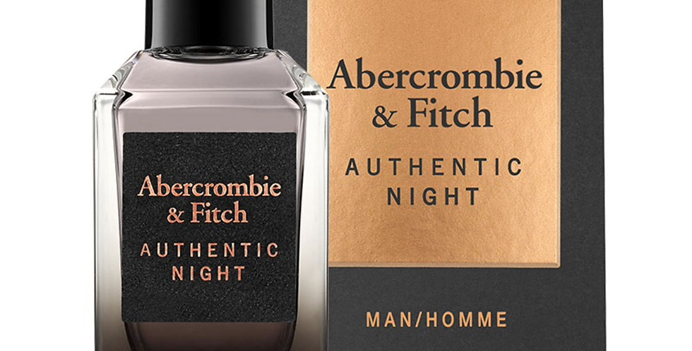 Abercrombie & Fitch Authentic Night EDT Spray
