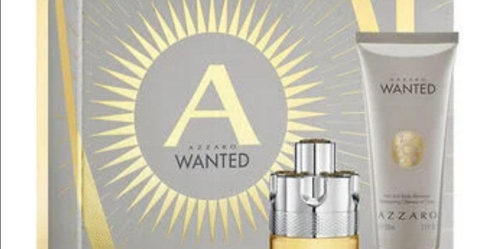Azzaro Wanted 50ml EDT Spray / 100ml Hair & Body Shampoo