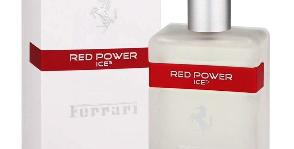 Ferrari Red Power Ice 3 EDT Spray