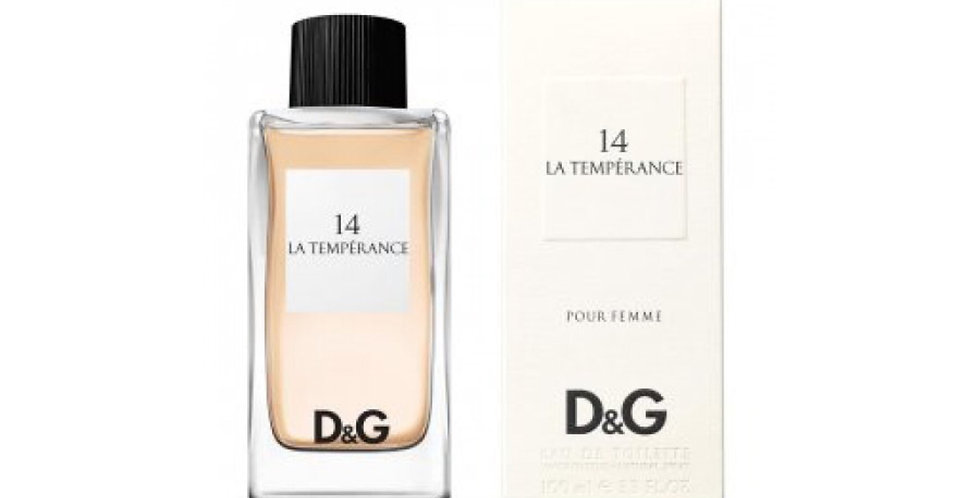 Dolce & Gabbana D&G 14 La Temperance EDT Spray