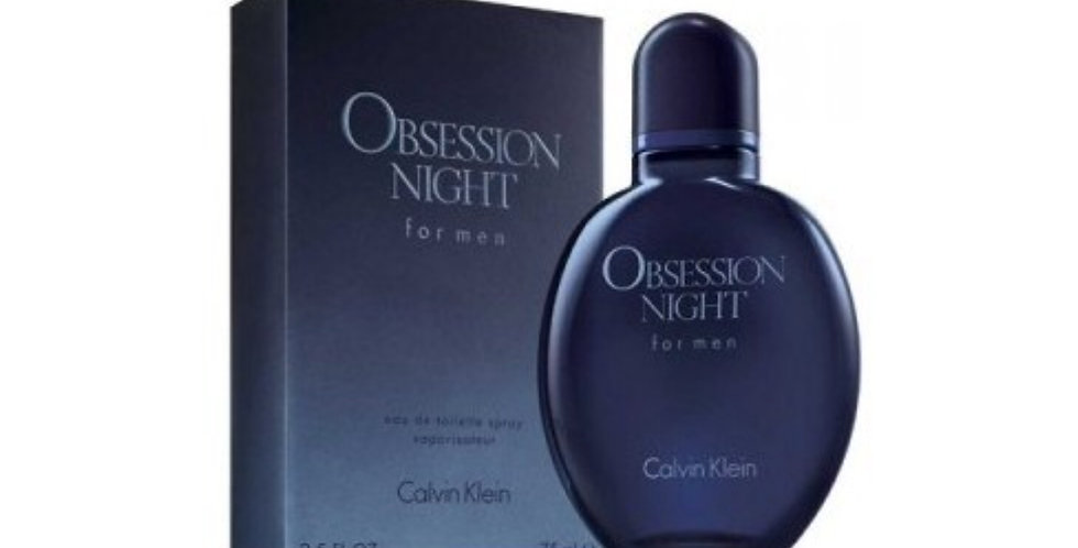 Calvin Klein Obsession Night for Men EDT Spray