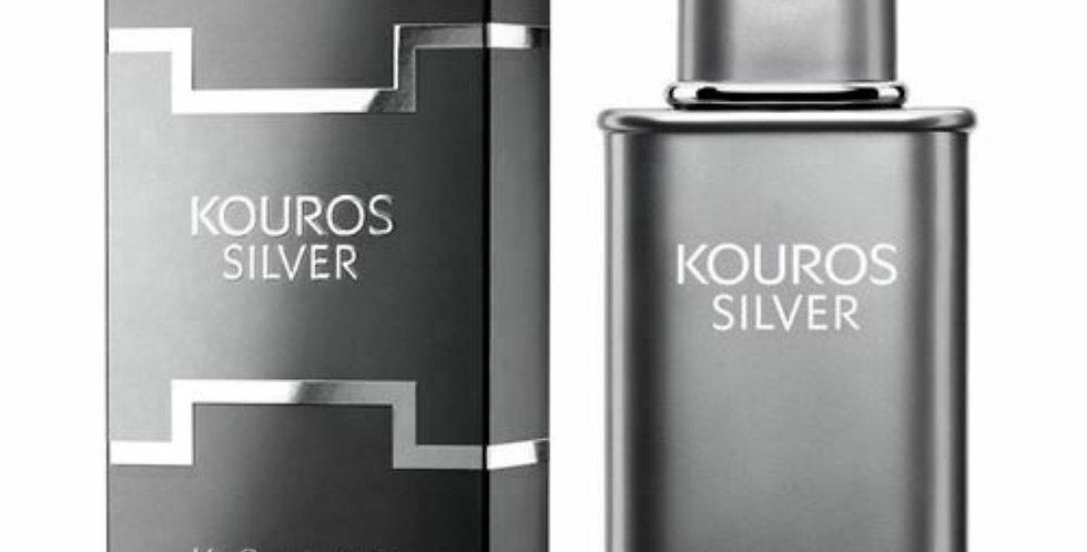 Kouros Silver EDT Spray