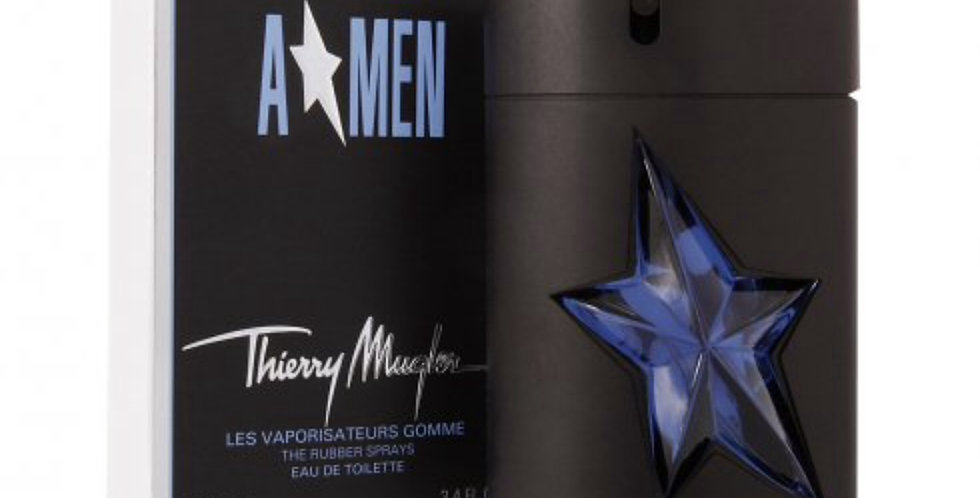 Thierry Mugler Angel Men Refillable EDT Spray in Rubber Flask
