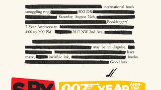 Spyleggers 007 Year Anniversary