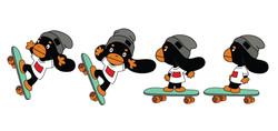 스케이트보드 모션