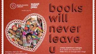 Books Will Never Leave U