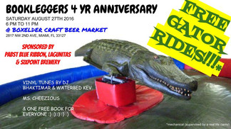 4 Year Anniversary (With Mechanical Alligator) at Boxelder
