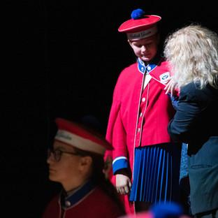 Præsentation af vores nye kapper som er doneret af Jørgen Glidov Fonden. Tusind tak!