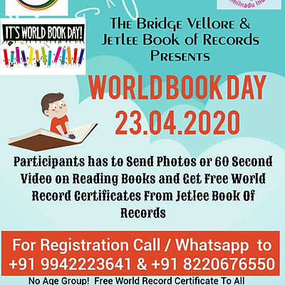 World Book Day 2020 - Online World Record