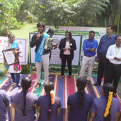 Stay Away From Corona - World Record 2020 @ SVPC, Vellore