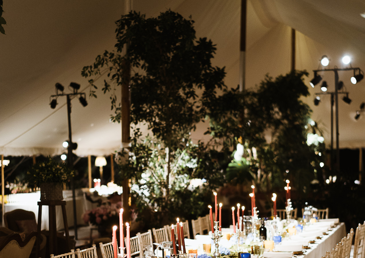Beautiful Italian Marquee Party