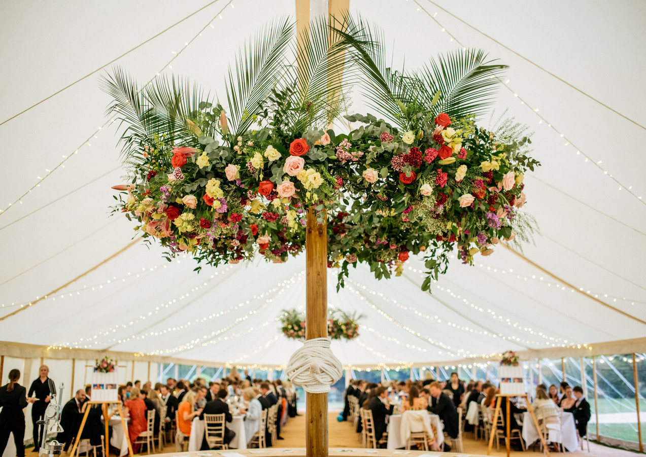 Floral Marquee Inspiration