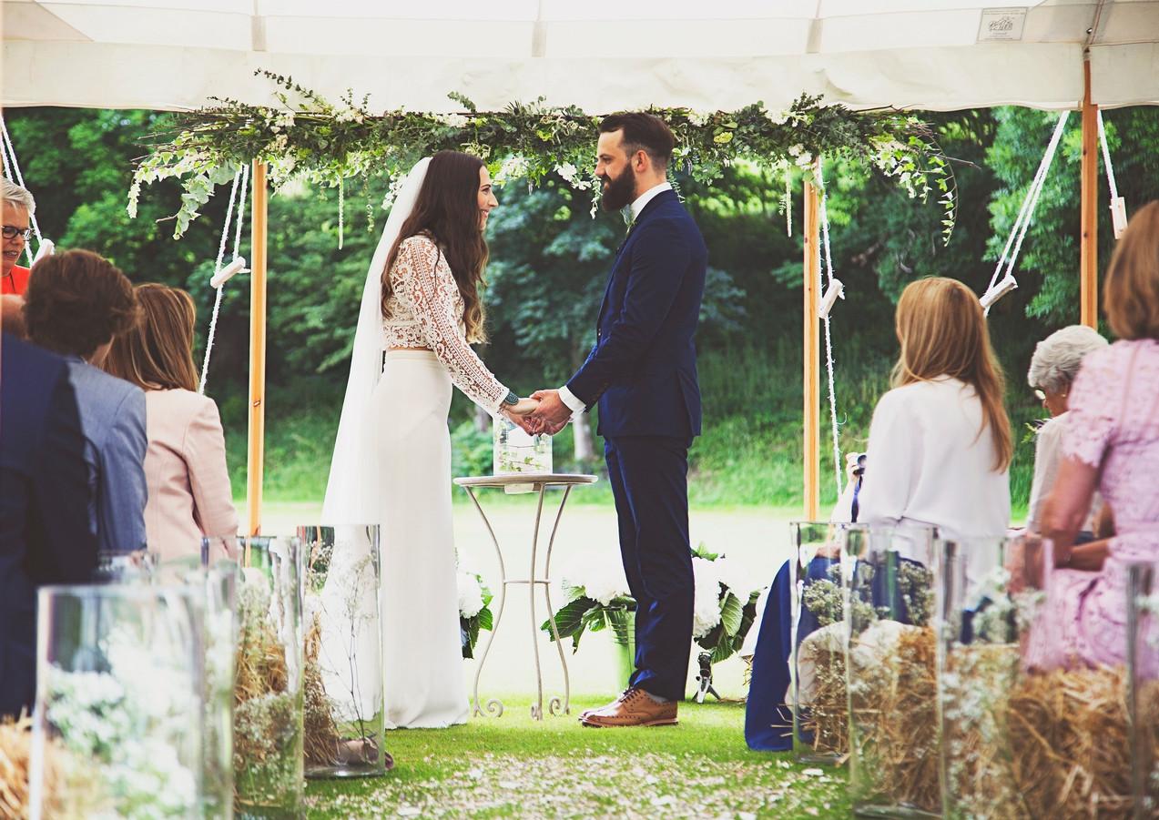 Romantic Ceremony Marquee