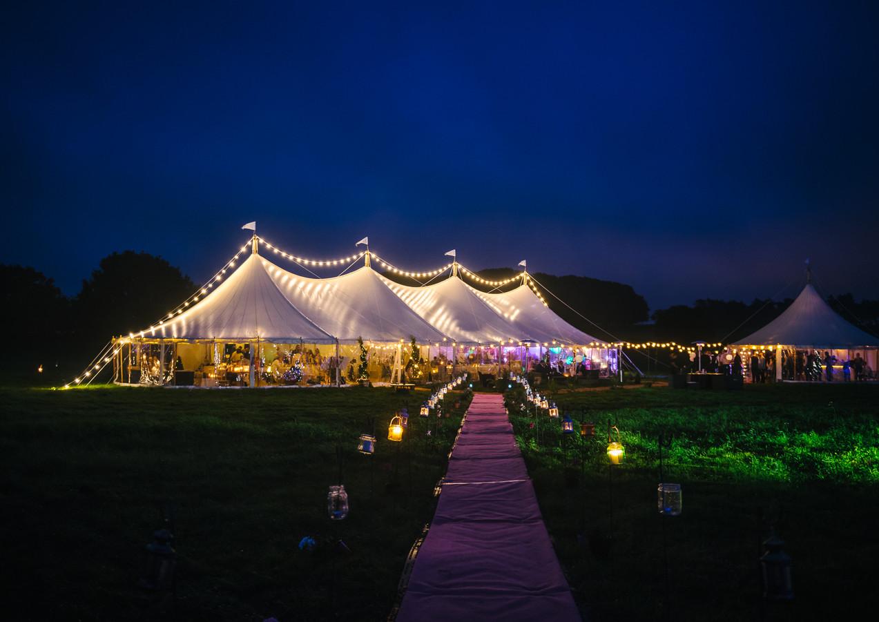 Farm Wedding Marquee