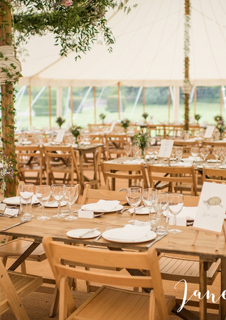 Rustic Wedding Tables & Chairs
