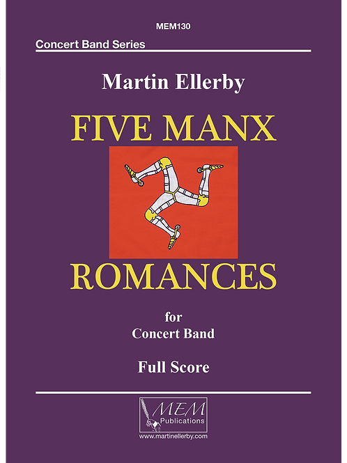 FIVE MANX ROMANCES - Martin Ellerby