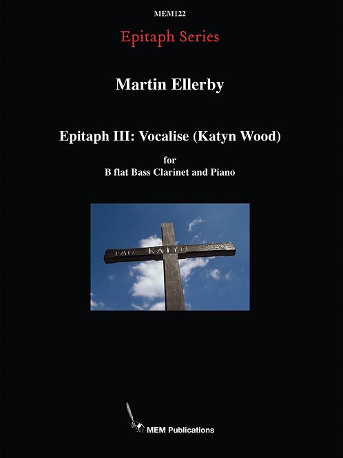 Epitaph III: Vocalise (Katyn Wood)