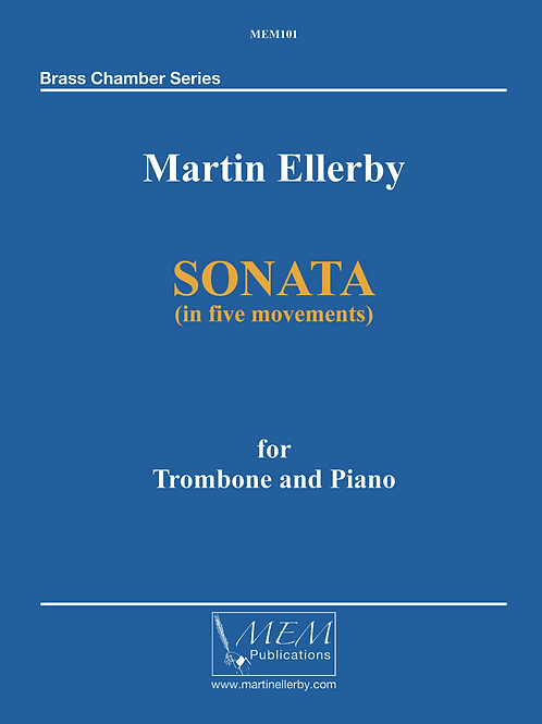 SONATA for Trombone & Piano