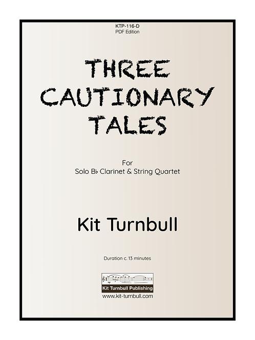 THREE CAUTIONARY TALES - Kit Turnbull