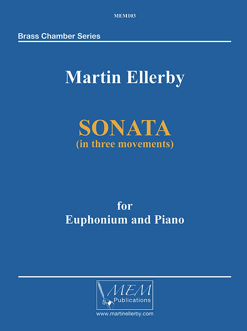 SONATA for Euphonium & Piano