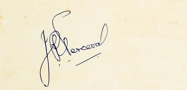 Dick Perceval Signature