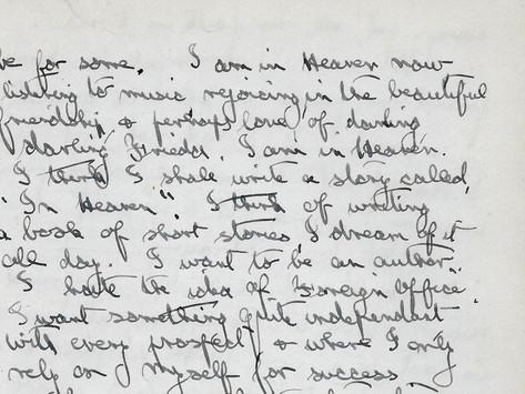 To write something worthwhile...