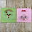 Thumbnail: Santa and Mrs. Sketch Circle Embroidery Design 3 SIZES