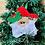 Thumbnail: ITH Santa Star Ornament Embroidery Design
