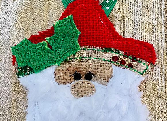 ITH Santa Star Ornament Embroidery Design