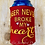 Thumbnail: Beer Never Broke My Heart ITH Can Insulator Embroidery Design