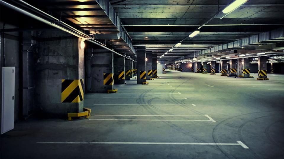 Асфальтирование подземной парковки