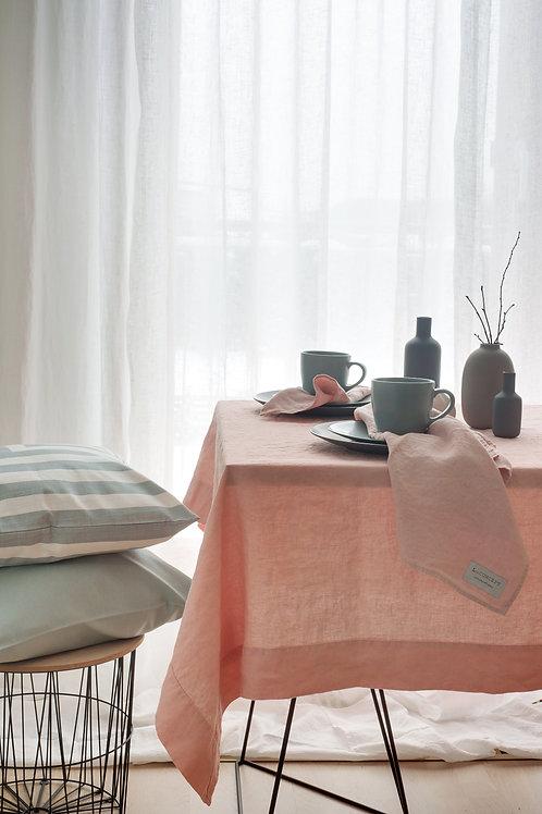 Quadratische Leinen Tischdecke MA (Modern Art)