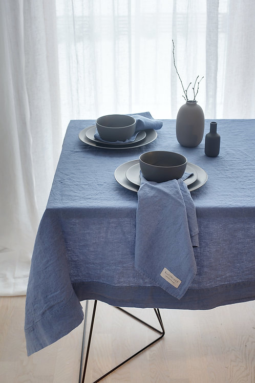 Quadratische Leinen Tischdecke MA (Modern Art) Sale