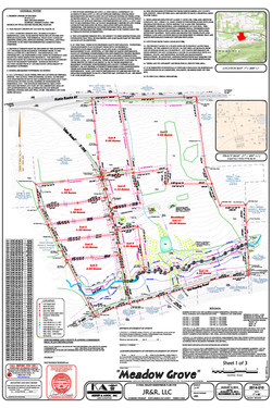Example Subdivision Plan