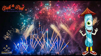 Deck the Park with Pyrotechnics